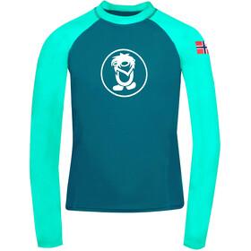 TROLLKIDS Kvalvika Shirt Kids, bleu/turquoise